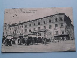 Gruss Aus CZERNOWITZ - Hotel Schwarzer Adler ( Leon König - N° 754 ) Anno 19?? ( Zie/voir Foto ) ! - Ukraine