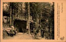 POSTE DE SECOURS SUR LE FONT ALSACIEN (MAISON DU DOCTEUR)...CPA ANIMEE - War 1914-18