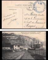6221/ Carte Postale St Jean De Maurienne La Gare France Guerre 1914/1918 Santé Train Sanitaire Semi Permanent N°2 BRON - Poststempel (Briefe)