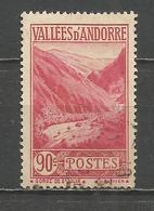ANDORRA FRANCESA YVERT NUM. 38  USADO - Andorra Francesa
