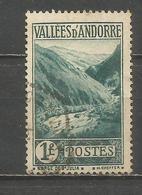 ANDORRA FRANCESA YVERT NUM. 39  USADO - Andorra Francesa