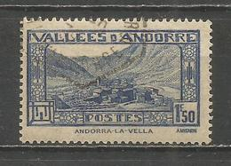 ANDORRA FRANCESA YVERT NUM. 40  USADO - Andorra Francesa
