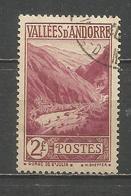 ANDORRA FRANCESA YVERT NUM. 41  USADO - Andorra Francesa