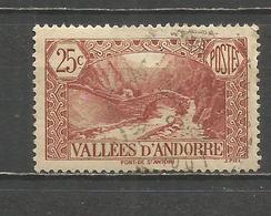 ANDORRA FRANCESA YVERT NUM. 61  USADO - Andorra Francesa