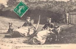 SCENES DE FRONTIERES LA COUCHETTE LES DOUANIERS A L'EMBUSCADE - Douane