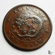 China - Kiangnan - 10 Cash - 1905 - China