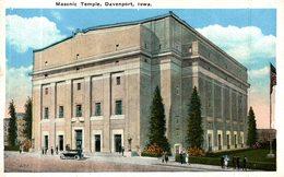 MASONIC TEMPLE DAVENPORT - Davenport