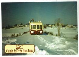ESTIVAREILLES Autorail 4001 / Chemin De Fer Haut Forez - Circulée - Autres Communes