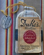 COLLECTION  US  Paquet De Tabac DUKES MIXTURE Durham . N.C. - Cigarettes - Accessoires
