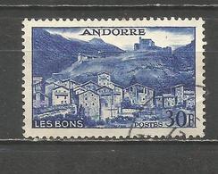 ANDORRA FRANCESA YVERT NUM. 150  USADO - Andorra Francesa