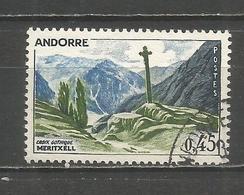 ANDORRA FRANCESA YVERT NUM. 160  USADO - Andorra Francesa