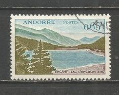 ANDORRA FRANCESA YVERT NUM. 162  USADO - Andorra Francesa