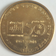 2014.Hyderabad .5 Rupee ..50 Years Engineering Excellence UNC - India