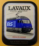 10482 - Locomotive Cie BLS Lavaux Jean & Pierre Testuz Suisse - Treni