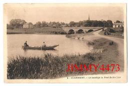 CPA - Le Lavoir Et Le Pont De Saint Clair En 1935 - GUENROUET 44 Loire Inf. - N° 8  - Edit. Loquet - Guenrouet
