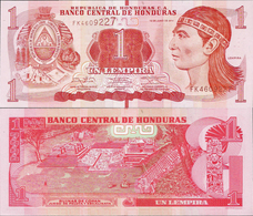 Honduras 2014 - 1 Lempira - Pick 96 UNC - Honduras