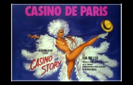 @@@ MAGNET - Casino De Paris. Jean Méjean Présente Casino Story Avec Eva Miller - Publicitaires