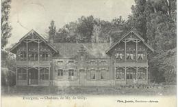 EVERGEM : Chateau De Mr. De Gilly - Cachet De La Poste 1909 - Evergem