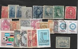 Argentina. Conjunto De 24 Sellos De Diferentes épocas - 1858-1861 Confederazione