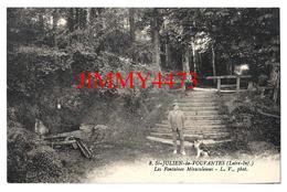 CPA - Les Fontaines Miraculeuses - SAINT JULIEN DE VOUVANTES 44 Loire Inf. - N° 8 - Edit. L. V. Phot. - Saint Julien De Vouvantes