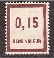 FRANCE FICTIF  : N° F28 TIMBRE NEUF SANS TRACE DE CHARNIERE (Semeuse) - Fictifs