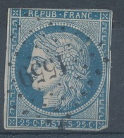 N°4 LOSANGE P.C. - 1849-1850 Cérès