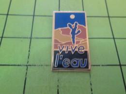 410b Pin's Pins / Beau Et Rare : THEME BOISSONS / VIVE L'EAU Qui Trouble Le Pastis , Cong ! - Beverages