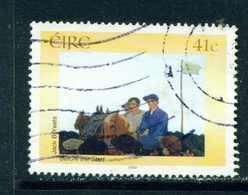 IRELAND  -  2002 National Gallery 41c Used As Scan - 1949-... Republic Of Ireland