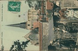 85 AIZENAY / Ancienne Et Nouvelle églises / BELLE CARTE COULEUR - Aizenay
