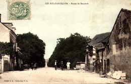 18 LES AIX D' ANGILLON - ROUTE DE SANCERRE - Les Aix-d'Angillon
