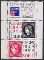 Céres De 1849 - FRANCE - Anniversaire Du 1er Timbre Français - N° 3211-3212 ** - 1999 - France