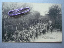 Ile De Ré : ST-MARTIN - Départ De Forçats Pour La Guyane - La Sortie Du Bagne En 1912 - Gevangenis