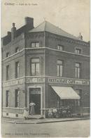 CHIMAY : Café De La Gare - RARE VARIANTE - Chimay