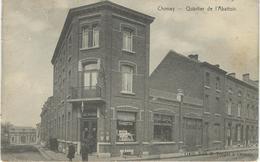 CHIMAY : Quartier De L'Abattoir - TRES RARE CPA - Cachet De La Poste 1909 - Chimay