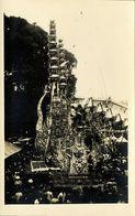 Indonesia, BALI, Funeral Tower (1920s) RPPC Postcard - Indonesia