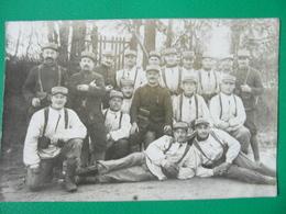 LA GUERRE WW1 CARTE PHOTO  MILITAIRES EN TENUE DE CAMPAGNE 2/04/1916 REG. 106 - Guerre 1914-18