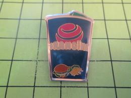411h Pin's Pins / Beau Et Rare : THEME BOISSONS / GRAND GOBELET ORANGINA + HAMBURGER + FRITES - Beverages