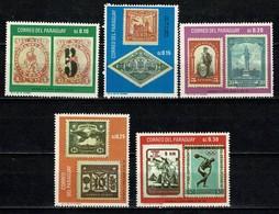 Paraguay 1968 Yv 936/40** - Mi 1825/29** MNH - Paraguay