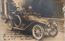 Militaire - Correspondance LORIENT  - Le 26/12/1914 - 4ème Régiment D'artillerie Lourde - Auto - LORIENT - Voiture (état - Guerre 1914-18