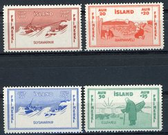 ISLAND N° 154 / 155 / 156 / 157 ** (MNH) Issued For Marine Charity And Assitance To Shipwrecked Victims' Company. - Nuovi