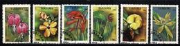 Tanzania 1994 - Yv 1702/07, Mi 1880/85  Flowers / Fleurs / Bloemen  Obl/gebr/used - Tanzanie (1964-...)