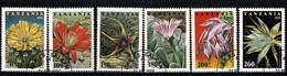Tanzania 1995 - Yv 1838/43, Mi 2160/65  Flowers / Fleurs / Bloemen  Obl/gebr/used - Tanzanie (1964-...)