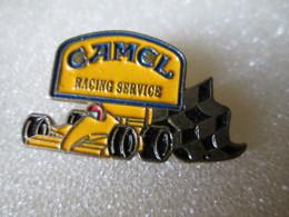PIN'S     CAMEL  RACING  SERVICE - F1