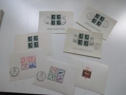 3. Reich Block 6 - 11 Hitler, Olympia Blockpaar Und München Riem Mit Aufdruck. Sonderstempel. Katalogwert 454€ - Deutschland