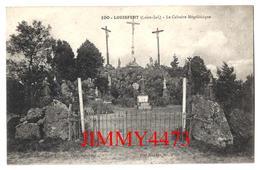 CPA - Le Calvaire Mégalithique - LOUISFERT ( Arr. De Chateaubriant ) 44 Loire Inf. - N°100 - Phot. Lacroix Chateaubriant - Dolmen & Menhirs
