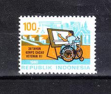 Indonesia - 1980. Invalido Di Guerra. Invalid Of War. MNH - Handicap
