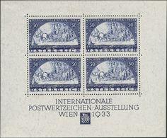 Austria. *Yv 1. 1933. Souvenir Sheet (stamps Never Hinged).WIPA. VERY FINE.   Yvert 2015: 4.500 Euros -- Austria. *Yv 1. - Austria