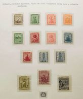 Egypt. **/*. 1914. Interesting Collection Of Egypt Between 1914 And 1980, Mostly Mint Hinged And Several Sets Never Hing - Egipto