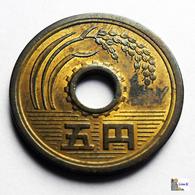 Japan - 5 Yen - 1973: Year 48 - Japón