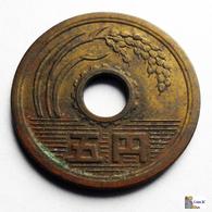 Japan - 5 Yen - 1975: Year 50 - Japón
